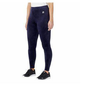 Fila Ladies' Velour Legging Super Soft High Rise